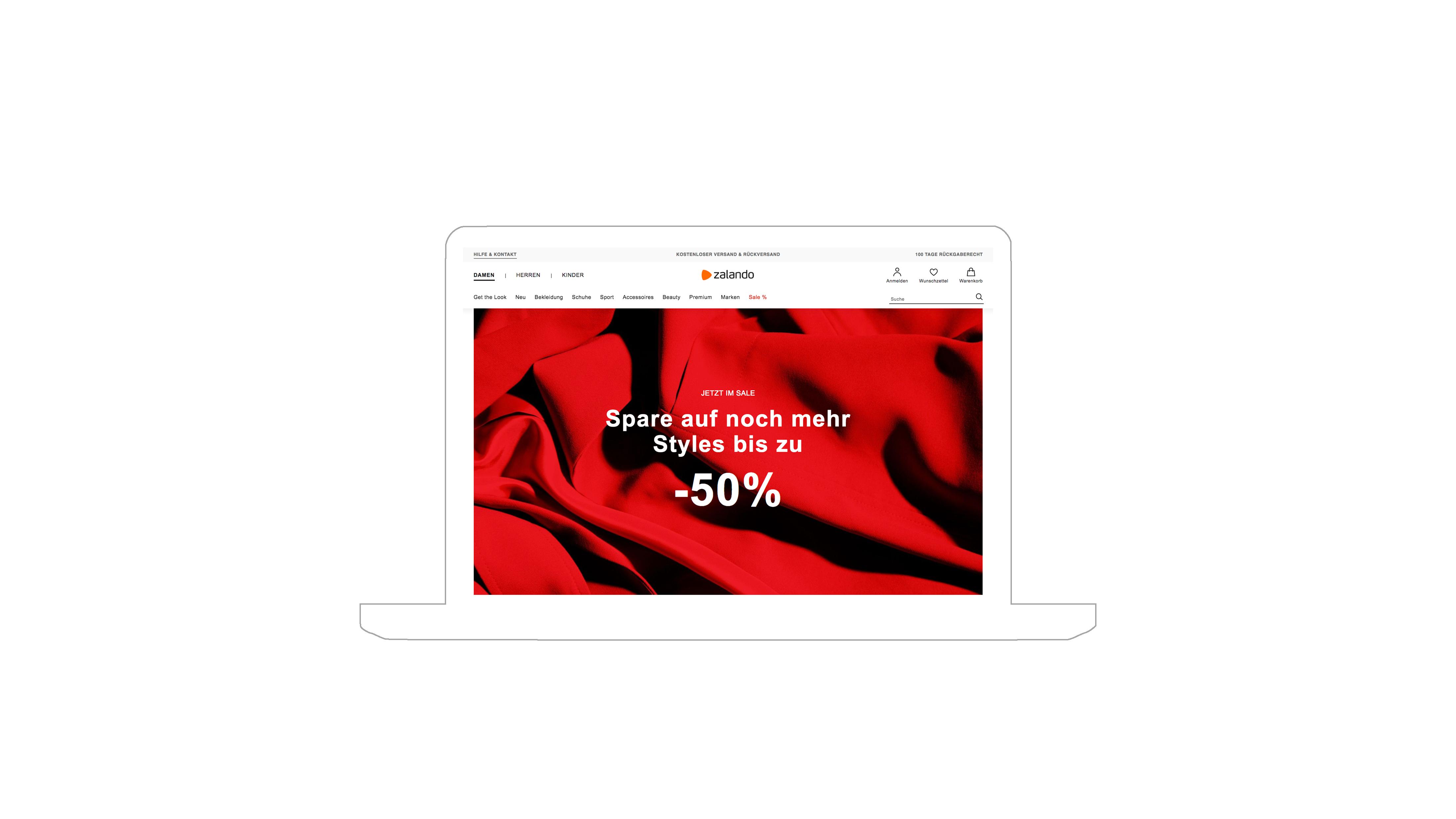 Nour, Alnader, Portfolio, Web, Zalando, Sale, Kampagne, Werbemittel, Advertising, Grafik, Illustration, Werbung, Ad, Online