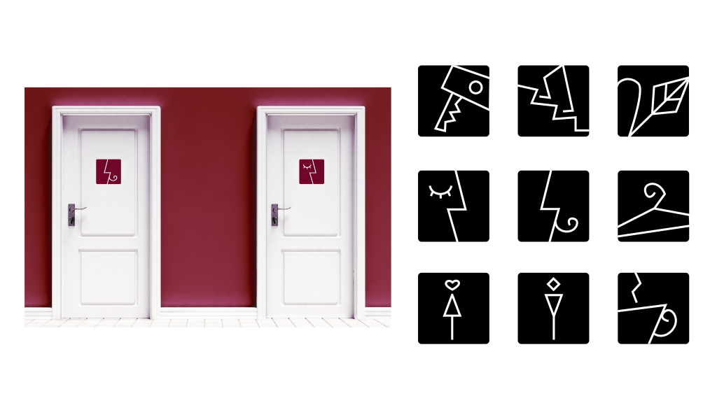 Nour, Alnader, Sign, Symbol, Reinzeichnung, Illustrator, Piktogramm